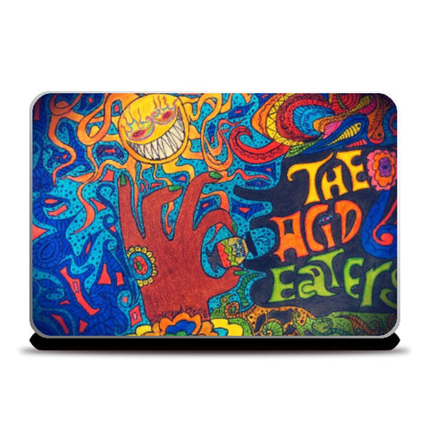 Laptop Skins, The Acid Eaters Laptop Skin | Artist: Sourabh Halder, - PosterGully