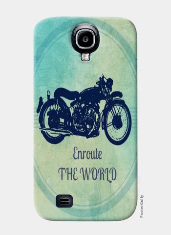 enroute the world / Travel Samsung S4 Cases | Artist : Priyanka Singhania