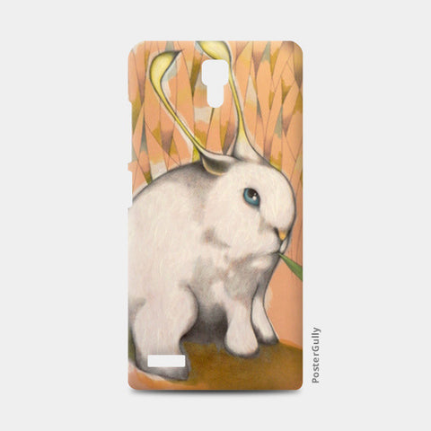 alien bunny Redmi Note Cases | Artist : federico cortese
