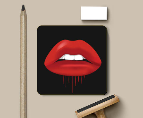 PosterGully Coasters, kiss Coasters | Artist : Scatterred Partikles, - PosterGully