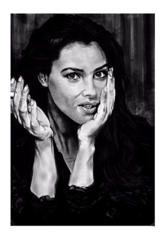 Wall Art, Monica Belluci  Wall Art Print  | Artist : Sumit Sinha, - PosterGully