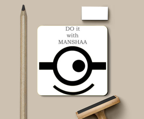 Coasters, smile Coasters | Artist : manshaa, - PosterGully