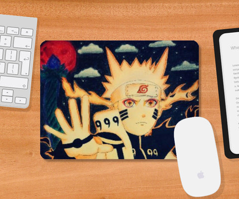 Mousepad, Naruto-Blood moon Mousepad | Artist: Abhilash Katta, - PosterGully