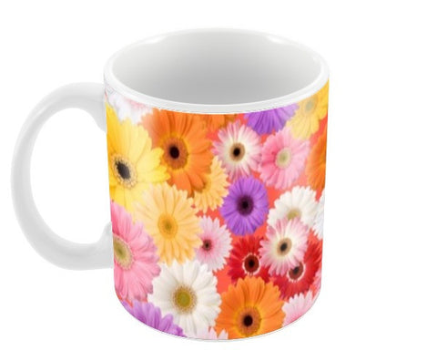 Flowers everywhere Coffee Mugs | Artist : Pallavi Rawal