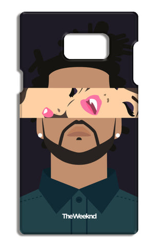 THE WEEKND #2 Samsung Galaxy Note 5 Tough Cases | Artist : Naman Kapoor