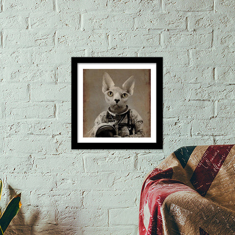Lost In Space Premium Square Italian Wooden Frames | Artist : Durro Art