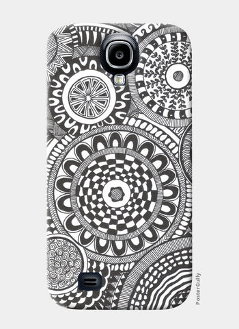 Prints in Circles Samsung S4 Cases | Artist : Aniket Mitra
