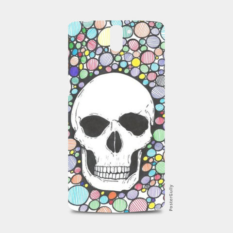 colored death One Plus One Cases | Artist : Raj Patel