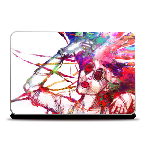 Laptop Skins, Mind Over Matter Laptop Skins | Artist : Kokila Bhattacharya, - PosterGully