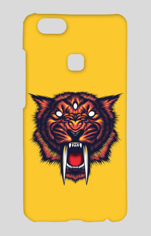 Saber Tooth Vivo V7 Plus Cases | Artist : Inderpreet Singh