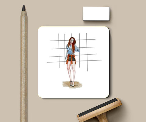 Relaxed Fashion Coasters | Artist : Fashion Lover