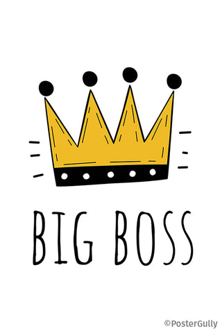 Big Boss Crown Minimal Artwork