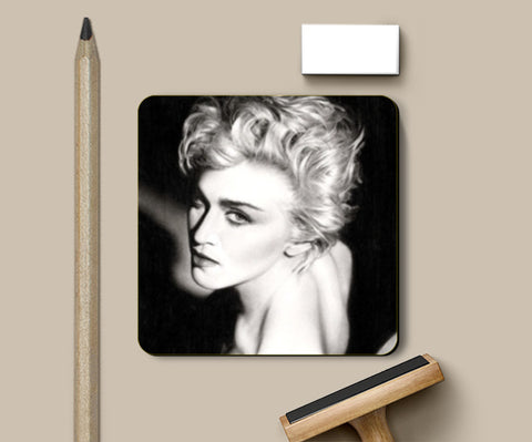 Madonna: The Queen of Pop Coasters | Artist : Swati Aggarwal