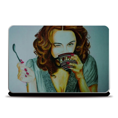 Laptop Skins, HappinessIs Coffee Laptop Skin | Artist : Chahat Suri, - PosterGully