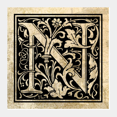 Ornate N Square Art Prints PosterGully Specials