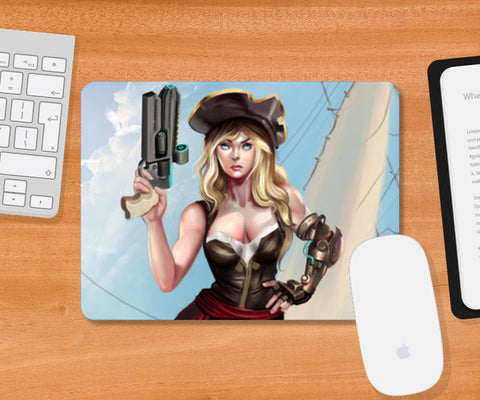 Future Pirate Mousepad | Artist : saumya singh