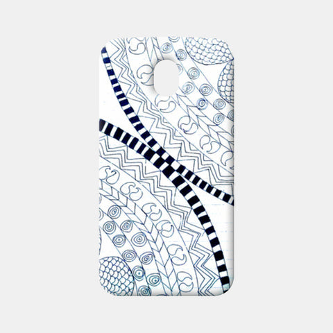 Symme3 (Doodle All The Way!) Moto G3 Cases | Artist : Hansika Sachdeva