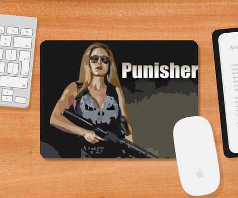 Punisher Mousepad | Artist : Delusion