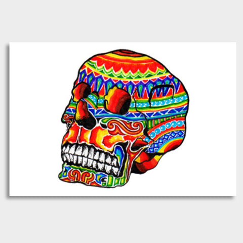 colorful life (after death) Giant Poster | Artist : amit kumar