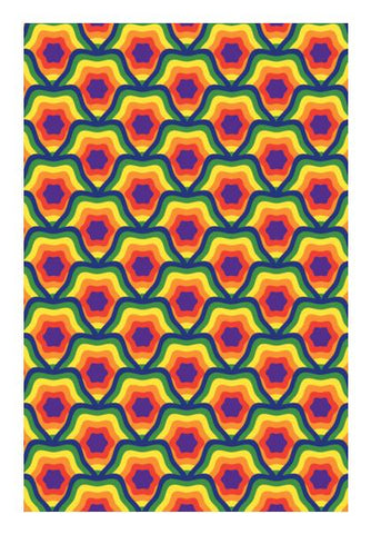 PosterGully Specials, Bright Colours geometric Wall Art | Artist : Designerchennai, - PosterGully