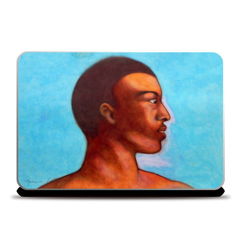 khalid in Michelangelo mood Laptop Skins | Artist : federico cortese