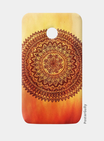 Fiery Mandala Moto E Cases | Artist : Susrita Samantaray