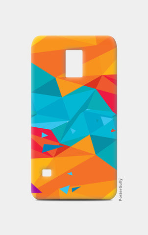 Samsung S5 Cases, Color Triangle Samsung S5 Cases | Artist : Manju Nk, - PosterGully