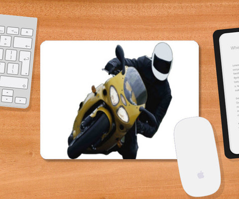 Mousepad, Racing Bike Mousepad | Artist : CK GANDHI, - PosterGully