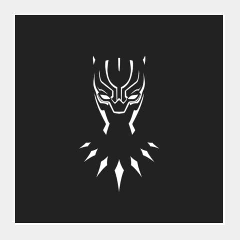 Marvel Comics Black Panther Superhero Square Art Prints PosterGully Specials