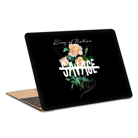 King Of Nation, No Savage, Wild Laptop Skin