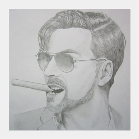 Square Art Prints, Akshay Kumar Pencil Sketch Square Art Prints | Artist : Art_vishal, - PosterGully