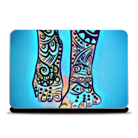 happiness coming your way Laptop Skins | Artist : Himani Chhabra