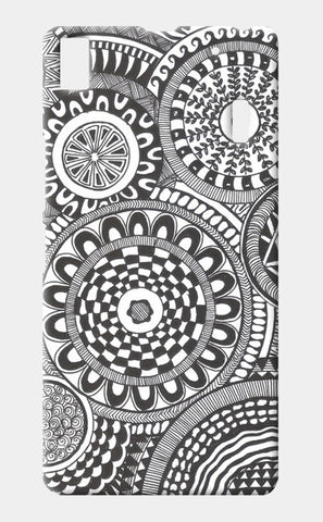 Prints in Circles Lenovo K3 Note Cases | Artist : Aniket Mitra