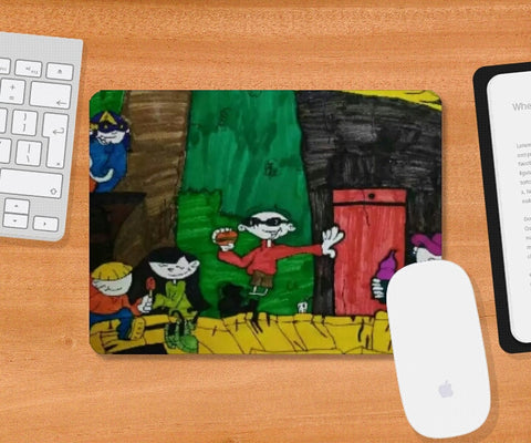 Mousepad, kids next door mousepad | artist : Gaurav Sahu, - PosterGully