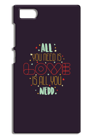 All you need is love is all you need Mi3-M3 Cases | Artist : Designerchennai