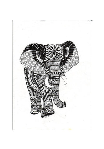 Wall Art, Abstract Elephant Wall Art | Artist : Aishwarya S, - PosterGully