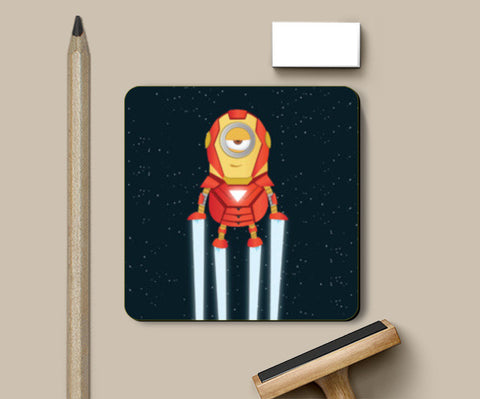 Coasters, Minion Ironman Coasters | Artist : Ronak Mantri, - PosterGully