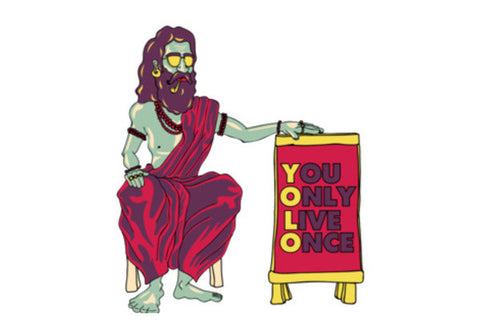 YOLO Wall Art  | Artist : Dishant Bhatia