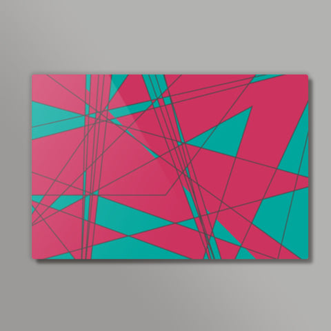 Triangles Metal Prints | Artist : Maitreyeeee