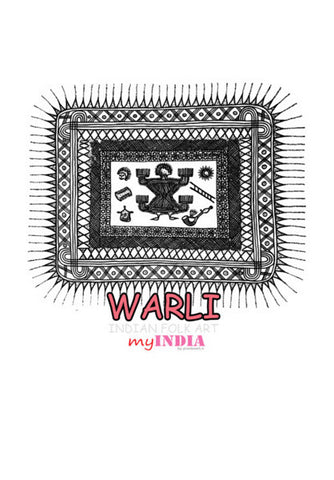 warli Wall Art | Artist : Pradeesh K