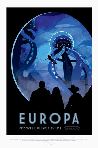 PosterGully Specials, Europa | Nasa Posters, - PosterGully