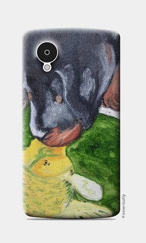 Puppy love @srijana's Nexus 5 Cases | Artist : srijana giri