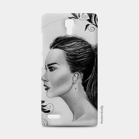 black and white Redmi Note Cases | Artist : Arathy Nair