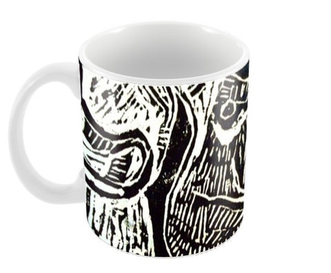 The Ram Coffee Mugs | Artist : Papo Mukherjee