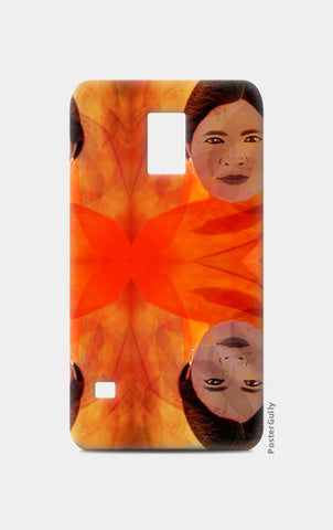 Becoming The Fire - Indian Woman Samsung S5 Cases | Artist : Rameshwar Chawla