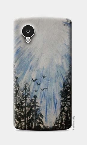 Winter sky @srijana's Nexus 5 Cases | Artist : srijana giri
