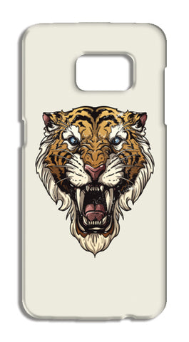 Saber Toothed Tiger Samsung Galaxy S7 Cases | Artist : Inderpreet Singh