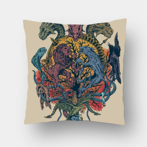 Cushion Covers, Game of Thrones Cushion Cover | Artist: Monisha Miriam, - PosterGully