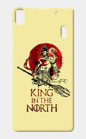 Shiva-king in the north Lenovo K3 Note Cases | Artist : Abhishek Faujdar