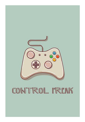 PosterGully Specials, Control Freak Wall Art | Artist : Arpita Gogoi, - PosterGully